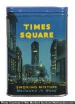 Times Square Tobacco Tin