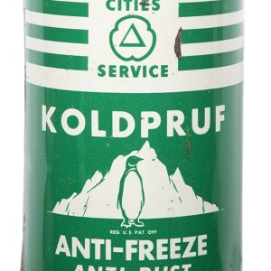 Cities Service Koldpruf Anti-Freeze Can