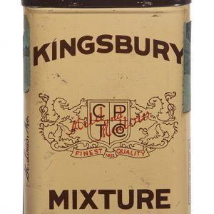 Kingsbury Mixture Pocket Tobacco Tin