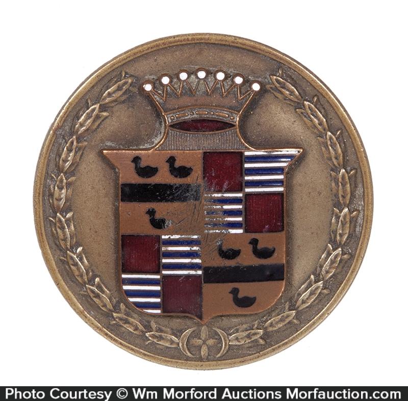 Early Cadillac Car Emblem
