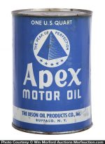 Apex Motor Oil Can