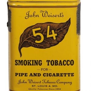 Weisert's 54 Pocket Tobacco Tin