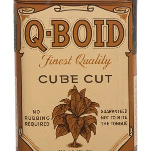 Q-Boid Tobacco Tin