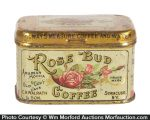Rose Bud Coffee Sample Tin