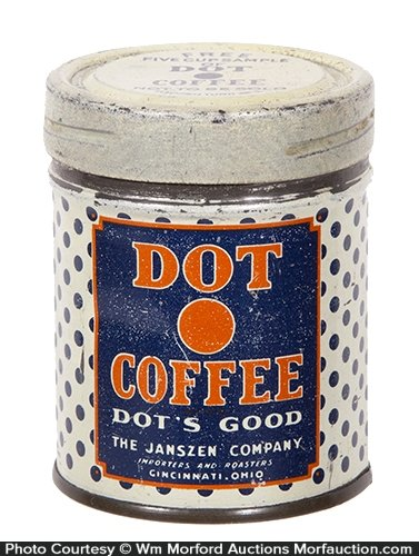 Dot Coffee Sample Tin