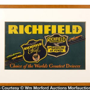Richfield Gasoline Sign
