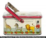 Iten Animal Cookies Tin