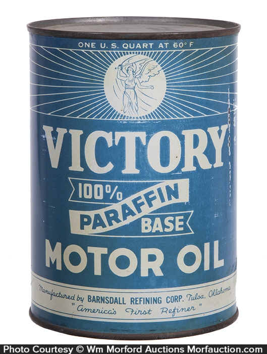 Victory Motor Oil Can