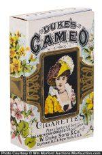 Duke's Cameo Cigarettes Box