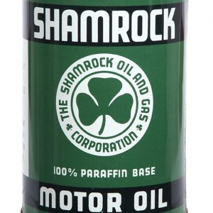 Shamrock Motor Oil Can