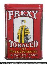 Prexy Pocket Tobacco Tin