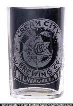 Cream City Beer Glass