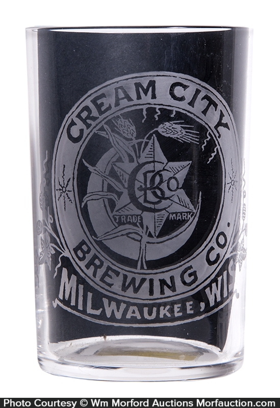 Cream City Beer Glass