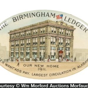 Birmingham Ledger Pocket Mirror