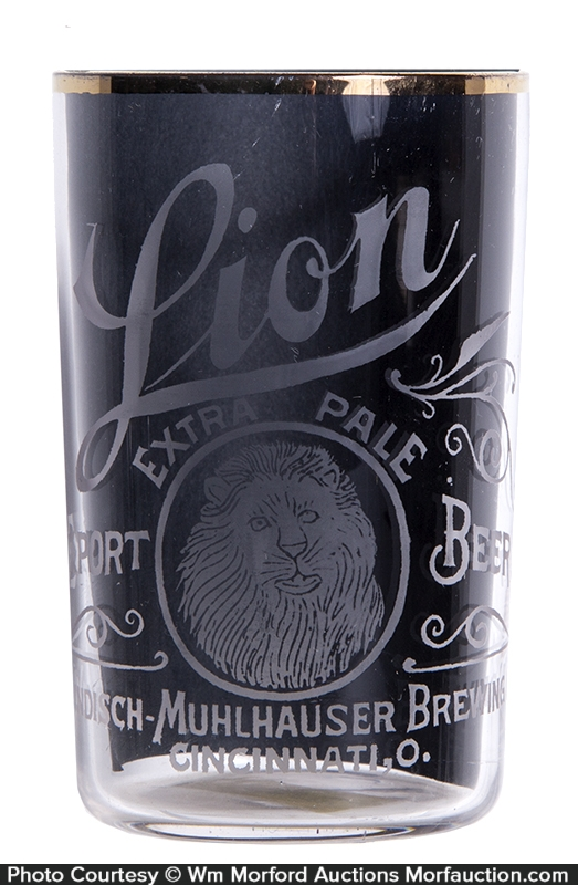 Lion Beer Glass