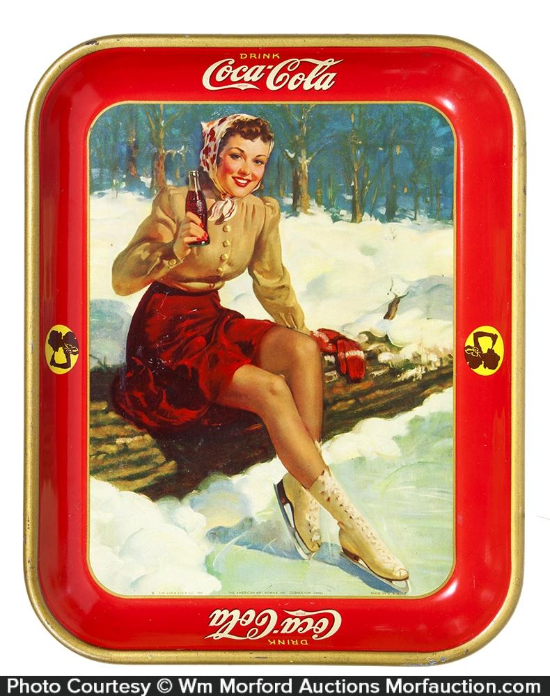 1941 Coca-Cola Tray