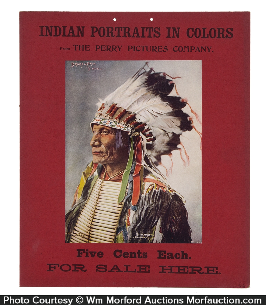 Indian Portraits Sign