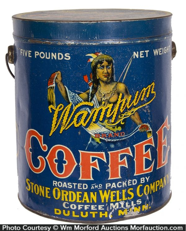 Wampum Coffee Pail