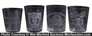 Vintage Whiskey Glasses