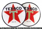 Texaco Gas Pump Globe Lenses