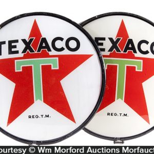 Texaco Gas Pump Globe Lenses