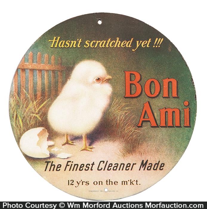 Bon Ami Hanger Sign