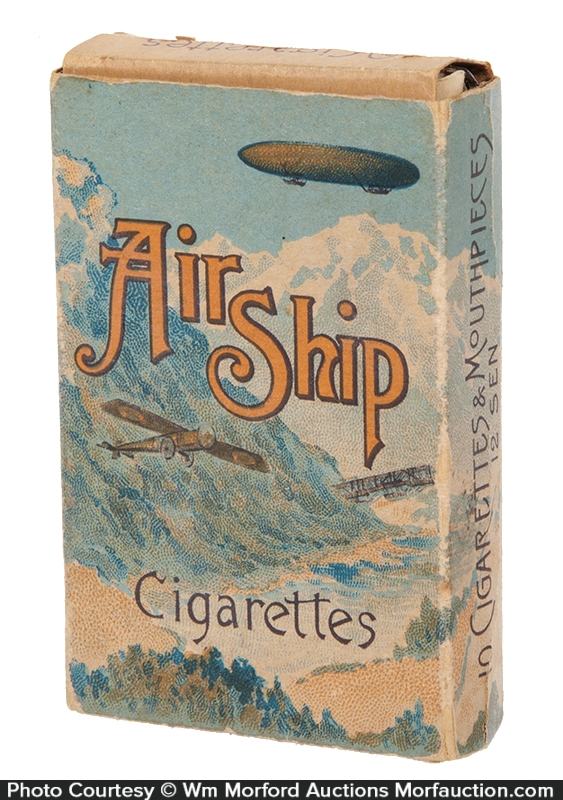 Air Ship Cigarettes Pack