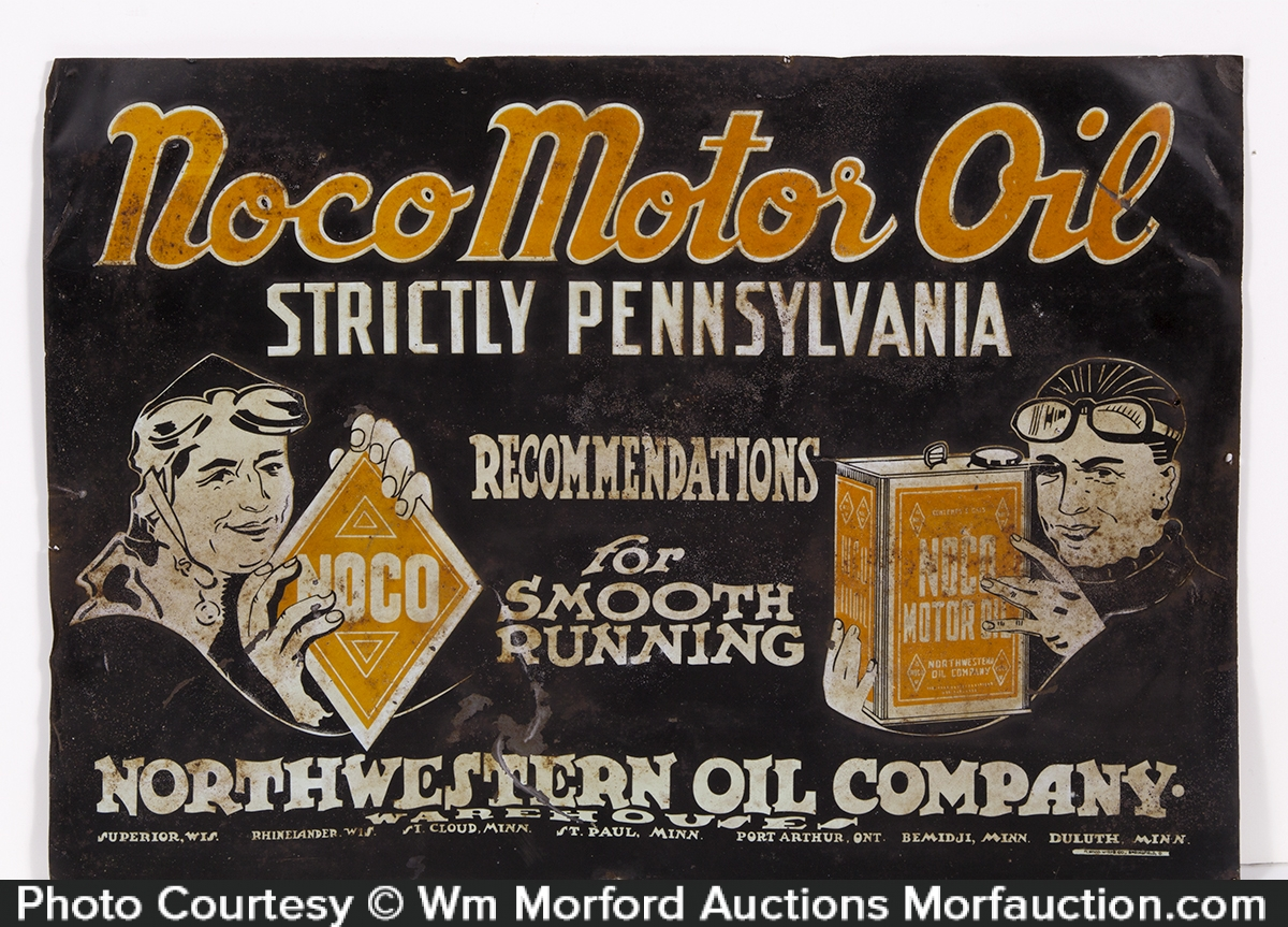 Noco Motor Oil Sign