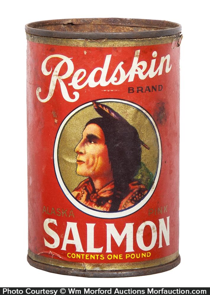 Redskin Salmon Tin