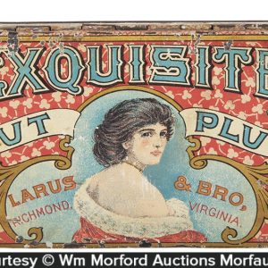 Exquisite Tobacco Tin