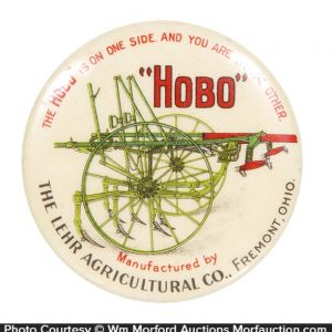 Hobo Agricultural Equipment Pocket Mirror