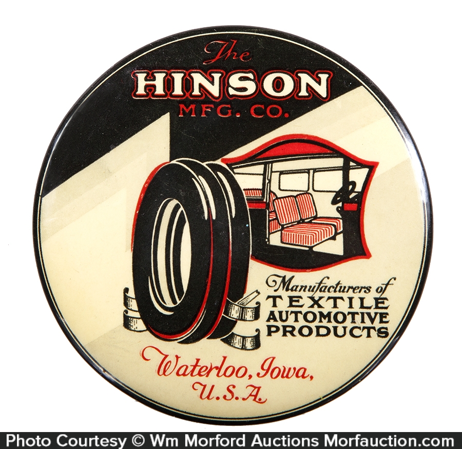 Hinson Automotive Textiles Mirror