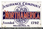 Insurance Company of North America Sign