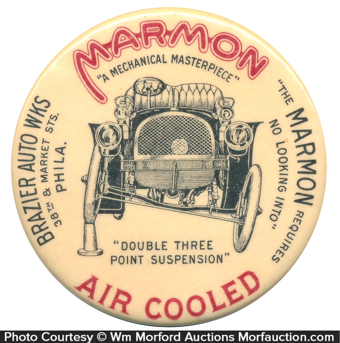 Marmon Air Cooled Pocket Mirror