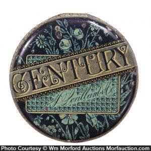 Century Tobacco Flip Lid Tin