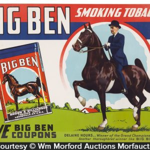 Big Ben Tobacco Sign