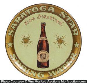 Saratoga Star Spring Mineral Tip Tray