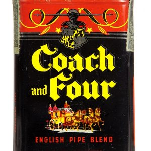 Coach and Four Tobacco Pocket Tin