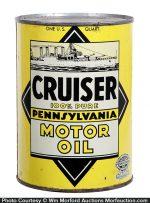 Cruiser Motor Oil Can