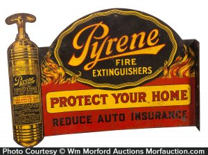 Pyrene Fire Extinguishers Sign