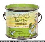 Wilson Peanut Butter Pail