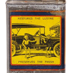 Whiz Auto Body Polish Tin