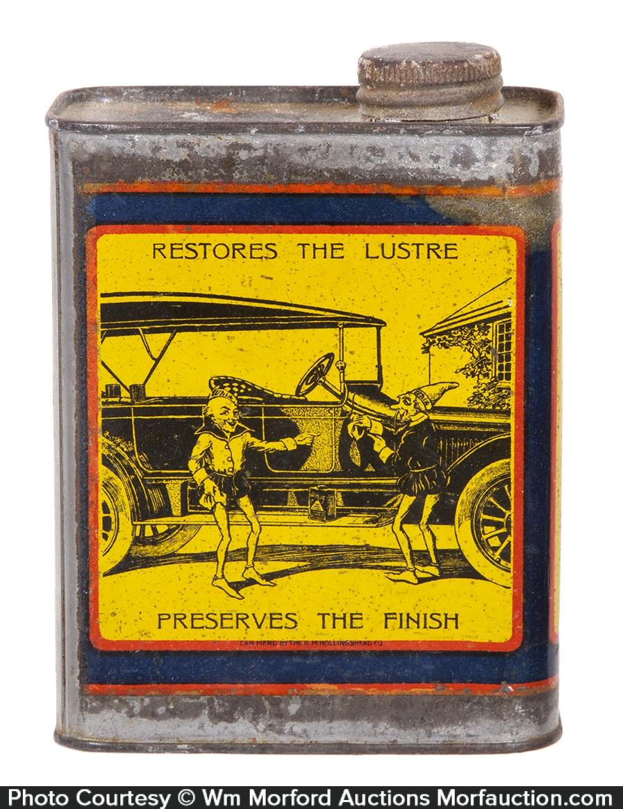 Whiz Auto Body Polish Tin