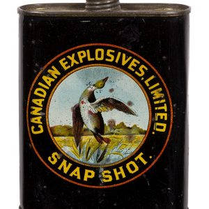 Canadian Explosives Snapshot Gunpowder Tin