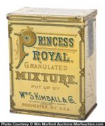 Princess Royal Tobacco Tin