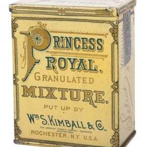 Princess Royal Tobacco Tin