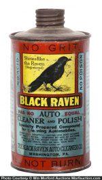 Black Raven Auto Polish Tin