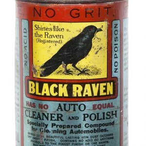 Black Raven Auto Polish Tin