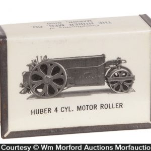 Huber Machinery Match Box Holder