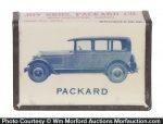 Packard and Studebaker Match Box Holder